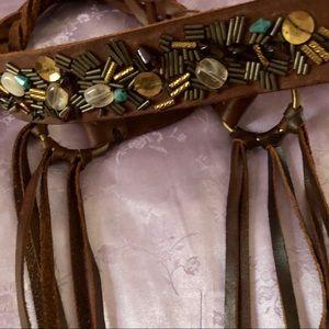 Hollister leather belt